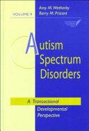 Autism Spectrum Disorders Book