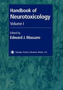 Handbook of Neurotoxicology