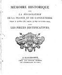 Mémoire historique sur la négociation de la France et de l'Angleterre depuis le 20 mars 1761 jusqu'au 20 septembre ...