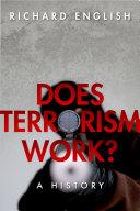 Does Terrorism Work? Pdf/ePub eBook