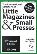 The International Directory Of Little Magazines And Small Presses
