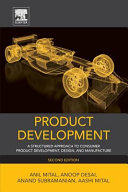 Product Development  A Structured Approach to Design and Manufacture