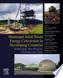 Municipal Solid Waste Energy Conversion in Developing Countries
