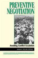 Preventive Negotiation Book