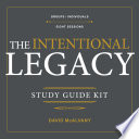The Intentional Legacy Study Guide Kit