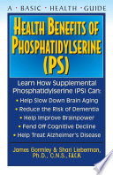 Health Benefits Of Phosphatidyslerine Ps