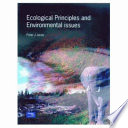 Ecological Principles and Environmental Issues Book