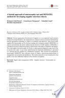 A hybrid approach of neutrosophic sets and DEMATEL method for developing supplier selection criteria