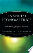 Financial Econometrics Book