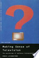 Making Sense of Television