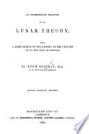 An Elementary Treatise on the Lunar Theory Book