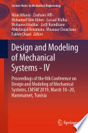 Design and Modeling of Mechanical Systems   IV