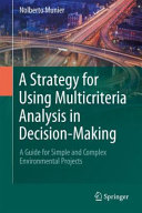 A Strategy for Using Multicriteria Analysis in Decision Making