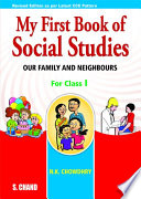 My First Book Of Social Studies For Class-I