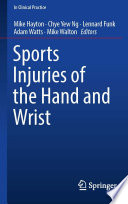 Sports Injuries Of The Hand And Wrist Book PDF