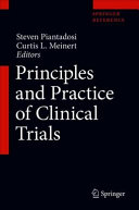 Principles and Practice of Clinical Trials Book