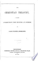 The Christian treasury  and missionary review   Book