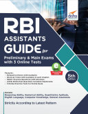 RBI Assistants Guide for Preliminary & Main Exams with 3 Online Tests 5th Edition Pdf/ePub eBook