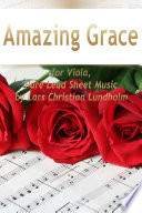 Amazing Grace for Viola  Pure Lead Sheet Music by Lars Christian Lundholm