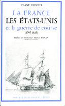 Pdf La France, les États-Unis et la guerre de course (1797-1815) Telecharger