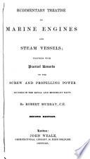 Rudimentary Treatise on Marine Engines and Steam Vessels