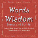Words of Wisdom Stamp and Gift Set: Find the Right Words for the ...