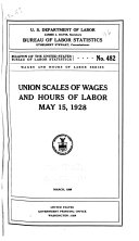 Wages and Hours of Labor
