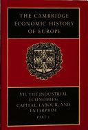 The Cambridge Economic History of Europe