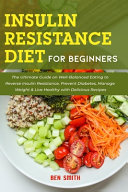Insulin Resistance Diet For Beginners Book
