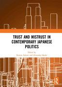 Trust and Mistrust in Contemporary Japanese Politics [Pdf/ePub] eBook