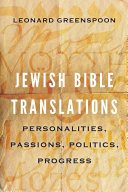 Jewish Bible Translations
