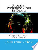 Student Workbook for El Deafo