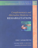 Complementary And Alternative Medicine In Rehabilitation Book PDF