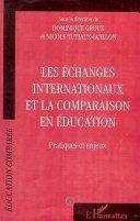 Pdf ECHANGES INTERNATIONAUX ET LA COMPARAISON EN EDUCATION Telecharger