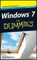 Windows 7 For Dummies  Pocket Edition