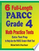 6 Full Length PARCC Grade 4 Math Practice Tests
