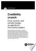 Credibility Crunch Food Poverty And Climate Change An Agenda For Rich Country Leaders