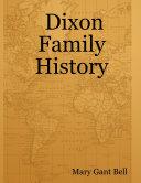 Dixon Family History