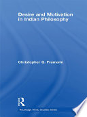 Desire and Motivation in Indian Philosophy Book