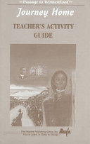 Journey Home: Teacher's Activity Guide