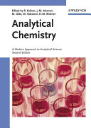 Analytical Chemistry Book