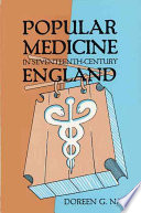Popular Medicine in Seventeenth century England Book
