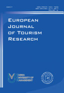 European Journal of Tourism Research
