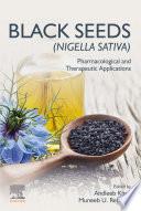 Black Seeds  Nigella sativa