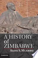 A History of Zimbabwe Book
