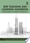 BIM Teaching and Learning Handbook