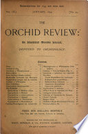 The Orchid Review