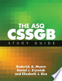The ASQ CSSGB Study Guide