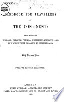 A Handbook for Travellers on the Continent