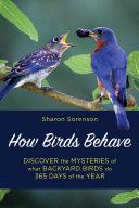 How Birds Behave Pdf/ePub eBook
